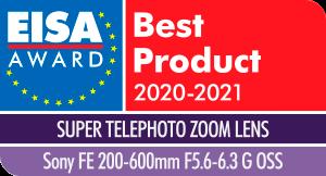 Sony FE 200-600mm f/5.6-6.3 G OSS -objektiivi