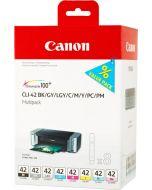 Canon CLI-42 Multipack -mustepatruunapaketti