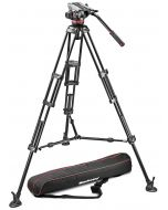 Manfrotto 546BK + 504HD -jalustapaketti