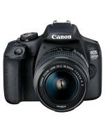 Canon EOS 2000D + EF-S 18-55mm f/3.5-5.6 IS II + Lowepro Nova 140 + LEXAR SDHC 32GB 1000X PRO UHS2