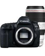 Canon EOS 5D Mark IV + EF 100-400mm f/4.5-5.6 L IS II USM -järjestelmäkamera