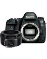 Canon EOS 6D Mark II + EF 50mm f/1.8 STM -järjestelmäkamera