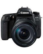 Canon EOS 77D + EF-S 18-135mm f/3.5-5.6 IS Nano USM -järjestelmäkamera