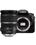 Canon EOS 90D + EF-S 17-55mm f/2.8 IS USM -järjestelmäkamera
