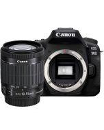 Canon EOS 90D + EF-S 18-55mm f/3.5-5.6 IS STM -järjestelmäkamera
