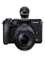 Canon EOS M6 Mark II + 18-150mm IS STM -järjestelmäkamera
