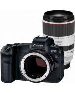 Canon EOS R + EF - EOS R + RF 70-200mm f/2.8 L IS USM -järjestelmäkamera