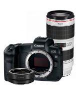 Canon EOS R + EF - EOS R + EF 70-200mm f/2.8 L IS III USM -järjestelmäkamera