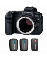 Canon EOS R + EF - EOS R + Saramonic Blink 500 B2