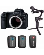 Canon EOS R + EF - EOS R + Saramonic Blink 500 B2 + Zhiyun Weebill S Gimbal