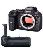 Canon EOS R6 + BG-R10 -järjestelmäkamera