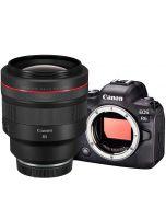 Canon EOS R6 + RF 85mm f/1.2 L USM -järjestelmäkamera