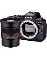 Canon EOS R6 + Samyang MF 85mm f/1.4 -järjestelmäkamera