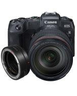 Canon EOS RP + RF 24-105mm f/4 L IS USM + EF - EOS R -adapter