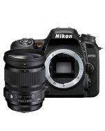 Nikon D7500 + Sigma 24-105mm f/4 A DG OS HSM -järjestelmäkamera