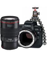 Canon EOS R + EF - EOS R + EF 100mm f/2.8 L IS USM Macro + Joby Gorillapod 3K Kit