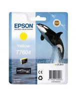 Epson T7604 Yellow -mustekasetti (SC-P600)