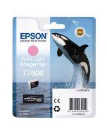 Epson T7606 Light Magenta -mustekasetti (SC-P600)
