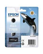 Epson T7608 Matte Black -mustekasetti (SC-P600)