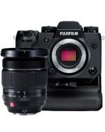 Fujifilm X-H1 + VPB-XH1 + 2 lisäakkua + XF 16-55/2.8 R LM WR