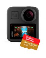 GoPro Max + SanDisk Extreme microSDXC A2 V30 64GB 160MB/s