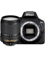 Nikon D3500 + AF-S 18-140mm f/3.5-5.6G VR -järjestelmäkamera