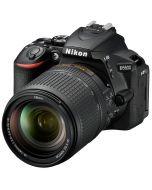 Nikon D5600 + AF-S 18-140mm VR -järjestelmäkamera, musta