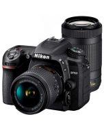 Nikon D7500 + AF-P 18-55mm VR + AF-P DX 70-300mm ED VR -järjestelmäkamera