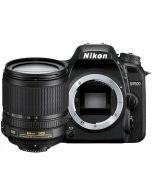 Nikon D7500 + AF-S 18-105mm VR -järjestelmäkamera