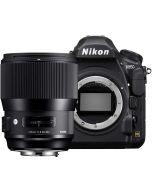 Nikon D850 + Sigma 135mm f/1.8 Art DG HSM -järjestelmäkamera