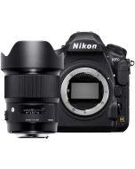 Nikon D850 + Sigma 20mm f/1.4 Art DG HSM -järjestelmäkamera