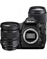 Nikon D850 + Sigma 24-105/4 A DG OS HSM + Sigma 100-400/5-6.3 C DG OS HSM