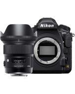 Nikon D850 + Sigma 24mm f/1.4 Art DG HSM -järjestelmäkamera