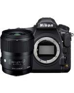 Nikon D850 + Sigma 35mm f/1.4 Art DG HSM -järjestelmäkamera