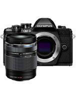 Olympus OM-D E-M10 Mark III + M.Zuiko 14-150mm f/4-5.6 ED II -järjestelmäkamera, musta