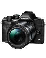 Olympus OM-D E-M10 Mark IV + M.Zuiko 14-150mm -järjestelmäkamera, musta