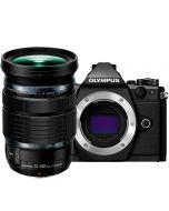 Olympus OM-D E-M5 Mark II + M.Zuiko 12-100mm f/4 ED IS Pro, musta