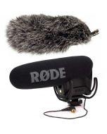 Rode VideoMic Pro Rycote -mikrofoni + DeadCat VMPR -tuulisuoja