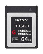 Sony 64GB XQD 440MB/s G-series -muistikortti