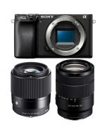Sony A6400 + 18-135mm f/3.5-5.6 OSS + Sigma 30mm f/1.4 C DC DN