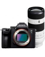Sony A7 Mark III + FE 70-200mm f/4 G OSS -järjestelmäkamera