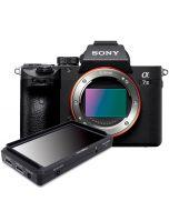 """Sony A7 Mark III -järjestelmäkamera + FeelWorld F5 5"""" Full HD -monitori"""
