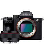 Sony A7 Mark III + Samyang AF 35mm f/2.8 -järjestelmäkamera