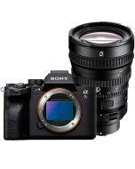 Sony A7S Mark III + FE 28-135mm f/4 PZ G OSS -järjestelmäkamera