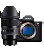 Sony A7S Mark III + Sigma 35mm f/1.4 A DG HSM -järjestelmäkamera