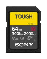 Sony SF-G64T Tough SDXC 64GB 300MB/s UHS-II V90 -muistikortti