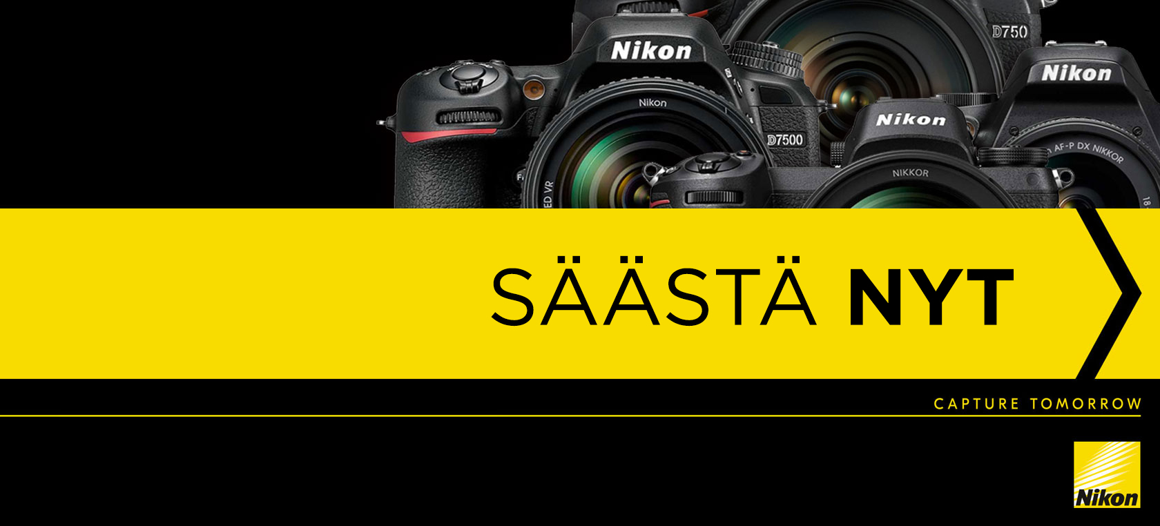 Nikon - Säästä nyt!