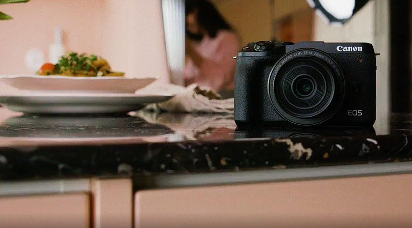 Canon EOS M6 Mark II - Luova kumppanisi