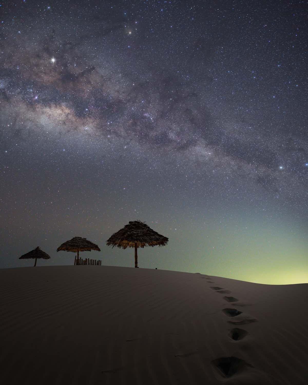 Tähtikuvaus aavikolla - Canon EOS 5D Mark III, Valotusaika: 15, ISO-herkkyys: 4 000