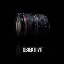 Canon objektiivit